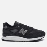Мужские кроссовки New Balance M998DPHO Black/Silver фото- 0
