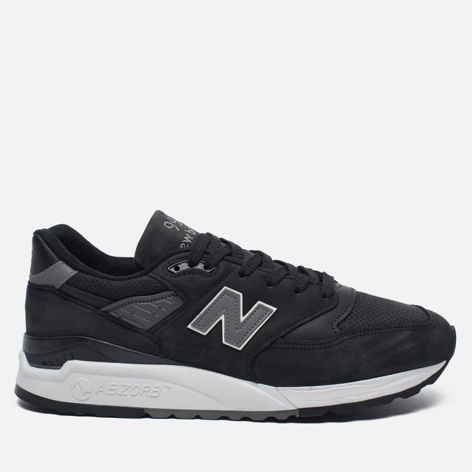 Мужские кроссовки New Balance M998DPHO Black/Silver