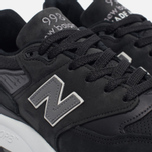 Мужские кроссовки New Balance M998DPHO Black/Silver фото- 5