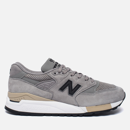 Мужские кроссовки New Balance M998DTK Light Grey/Black