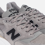 Мужские кроссовки New Balance M998DTK Light Grey/Black фото- 5
