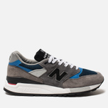 Мужские кроссовки New Balance M998NF Grey/Navy/Blue Colourway фото- 0