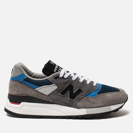 Мужские кроссовки New Balance M998NF Grey/Navy/Blue Colourway