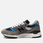 Мужские кроссовки New Balance M998NF Grey/Navy/Blue Colourway фото- 1