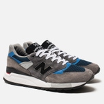 Мужские кроссовки New Balance M998NF Grey/Navy/Blue Colourway фото- 2