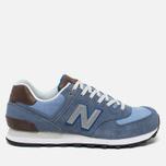 Мужские кроссовки New Balance ML574BCD Blue фото- 0