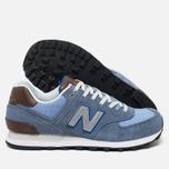 Мужские кроссовки New Balance ML574BCD Blue фото- 2