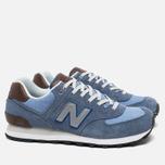 Мужские кроссовки New Balance ML574BCD Blue фото- 1