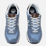Мужские кроссовки New Balance ML574BCD Blue фото- 4