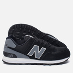 Мужские кроссовки New Balance ML574CNA Black/Grey фото- 1