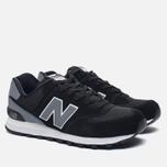 Мужские кроссовки New Balance ML574CNA Black/Grey фото- 2