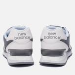 Мужские кроссовки New Balance ML574CNC Grey/White фото- 3