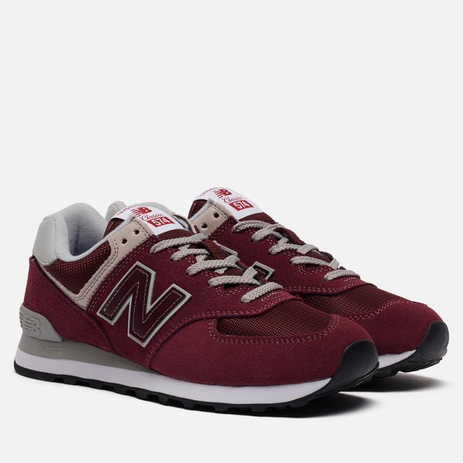 Мужские кроссовки New Balance ML574EGB Burgundy