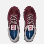 Мужские кроссовки New Balance ML574EGB Burgundy фото- 2