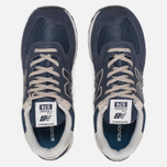 Мужские кроссовки New Balance ML574EGN Essential Navy фото- 4