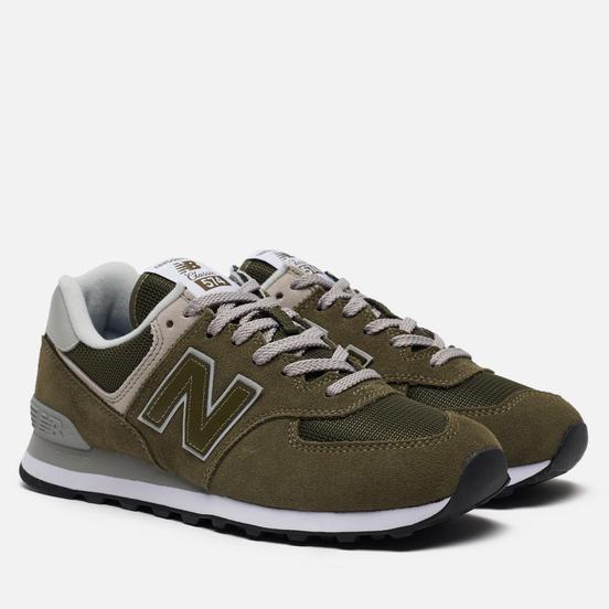 Мужские кроссовки New Balance ML574EGO Olive