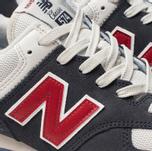 Мужские кроссовки New Balance ML574ESC Navy/Red/White фото- 6