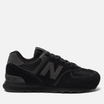 Мужские кроссовки New Balance ML574ETE Triple Black фото- 0