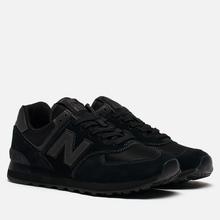 Мужские кроссовки New Balance ML574ETE Triple Black фото- 2