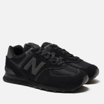 Мужские кроссовки New Balance ML574ETE Triple Black фото- 1