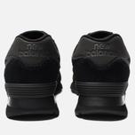 Мужские кроссовки New Balance ML574ETE Triple Black фото- 3