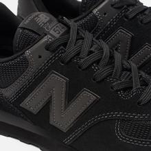 Мужские кроссовки New Balance ML574ETE Triple Black фото- 6