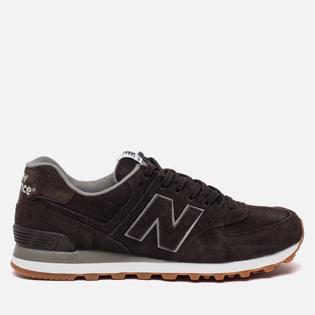Мужские кроссовки New Balance ML574FSB Gum Pack Brown
