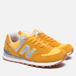 Мужские кроссовки New Balance ML574HRK Yellow фото- 2