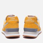 Мужские кроссовки New Balance ML574HRK Yellow фото- 3