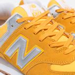 Мужские кроссовки New Balance ML574HRK Yellow фото- 5