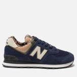 Мужские кроссовки New Balance ML574HVA Blue/Green/Brown фото- 0