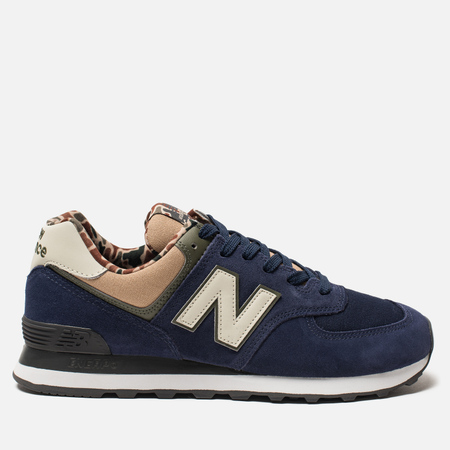 Мужские кроссовки New Balance ML574HVA Blue/Green/Brown