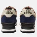 Мужские кроссовки New Balance ML574HVA Blue/Green/Brown фото- 3