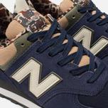 Мужские кроссовки New Balance ML574HVA Blue/Green/Brown фото- 6