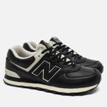 Мужские кроссовки New Balance ML574LUC Black фото- 2