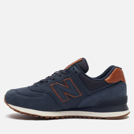 Мужские кроссовки New Balance ML574NBD Dark Blue/Brown