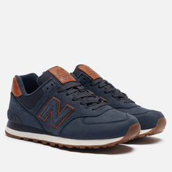 Мужские кроссовки New Balance ML574NBD Dark Blue/Brown