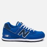 Мужские кроссовки New Balance ML574POB Pique Polo Pack Blue фото- 0
