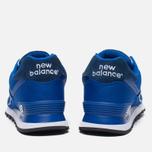Мужские кроссовки New Balance ML574POB Pique Polo Pack Blue фото- 3