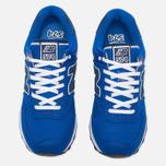 Мужские кроссовки New Balance ML574POB Pique Polo Pack Blue фото- 4