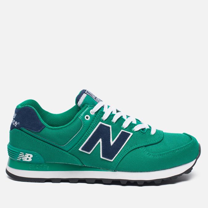 Мужские кроссовки New Balance ML574POG Pique Polo Pack Green