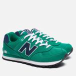Мужские кроссовки New Balance ML574POG Pique Polo Pack Green фото- 1