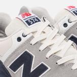 Мужские кроссовки New Balance ML574RSC Navy/Silver Mink фото- 5