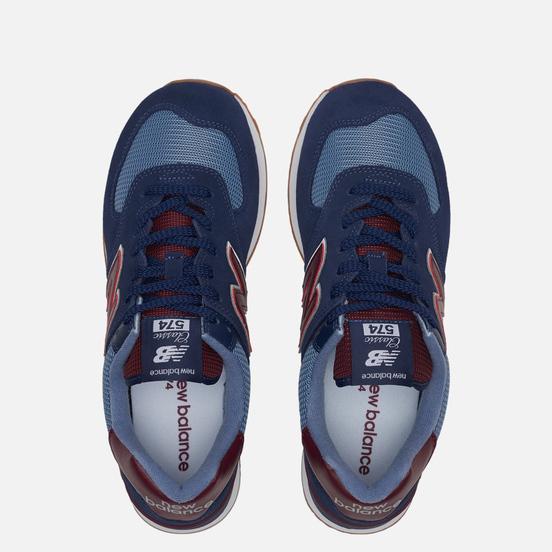 Мужские кроссовки New Balance ML574SPO Navy/Red