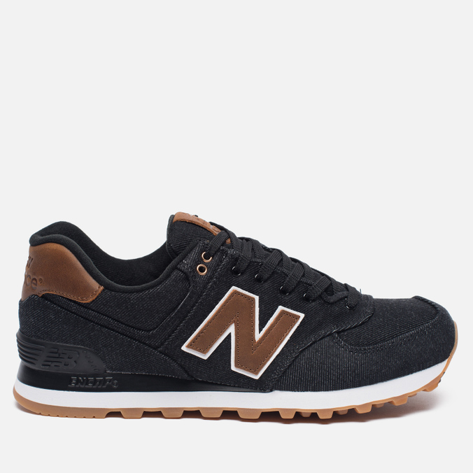 Мужские кроссовки New Balance ML574TXA 15 Ounce Canvas Pack Black/Brown