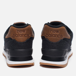 Мужские кроссовки New Balance ML574TXA 15 Ounce Canvas Pack Black/Brown фото- 3