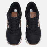 Мужские кроссовки New Balance ML574TXA 15 Ounce Canvas Pack Black/Brown фото- 4