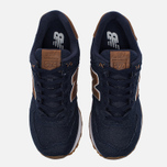 Мужские кроссовки New Balance ML574TXB 15 Ounce Canvas Pack Navy/Brown фото- 4