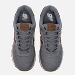 Мужские кроссовки New Balance ML574TXC 15 Ounce Canvas Pack Grey/Brown фото- 4