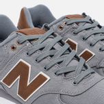 Мужские кроссовки New Balance ML574TXC 15 Ounce Canvas Pack Grey/Brown фото- 5